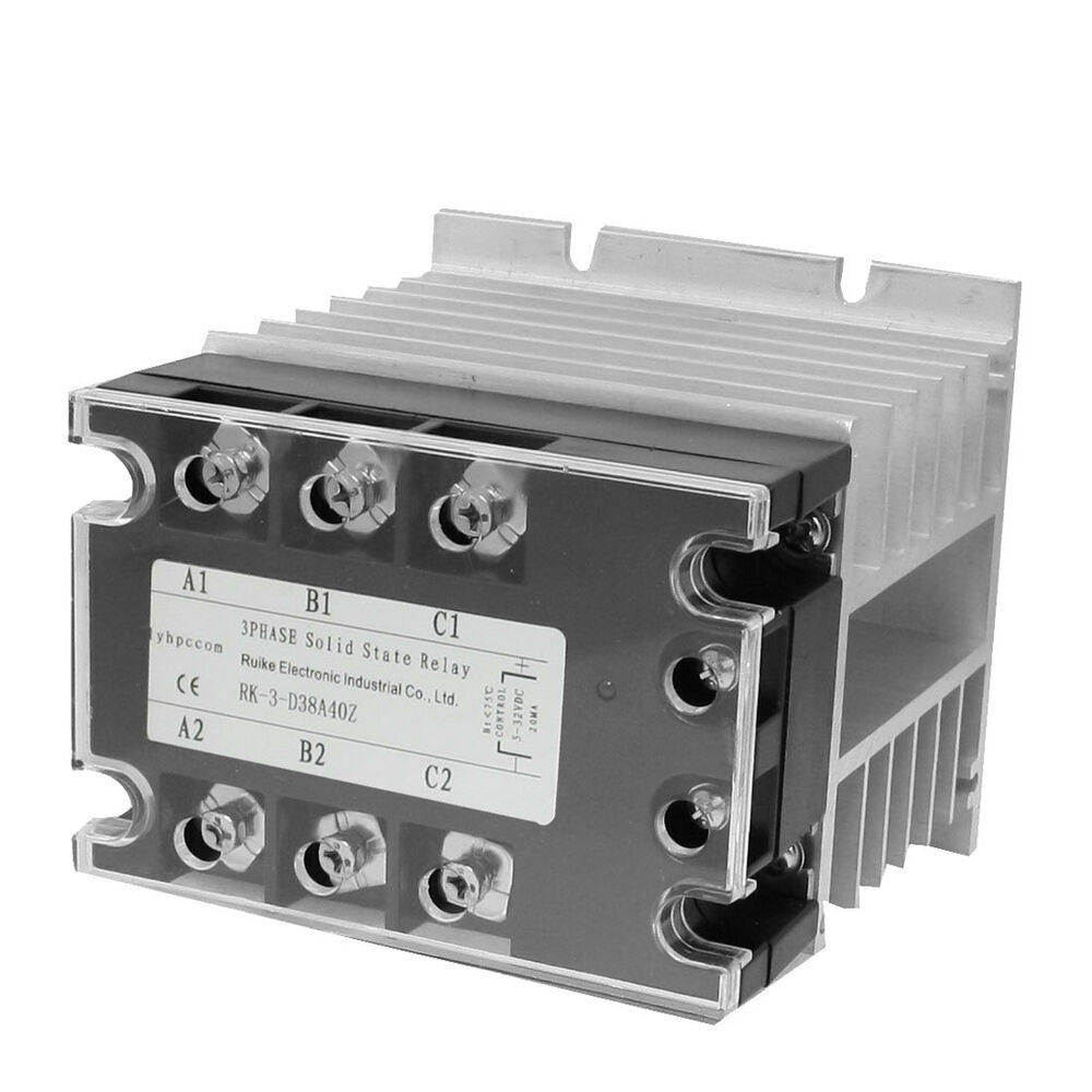 Solid State Relais Dc Holidays Load Control Relay Del30007 Ac 40a 5 32vdc 380
