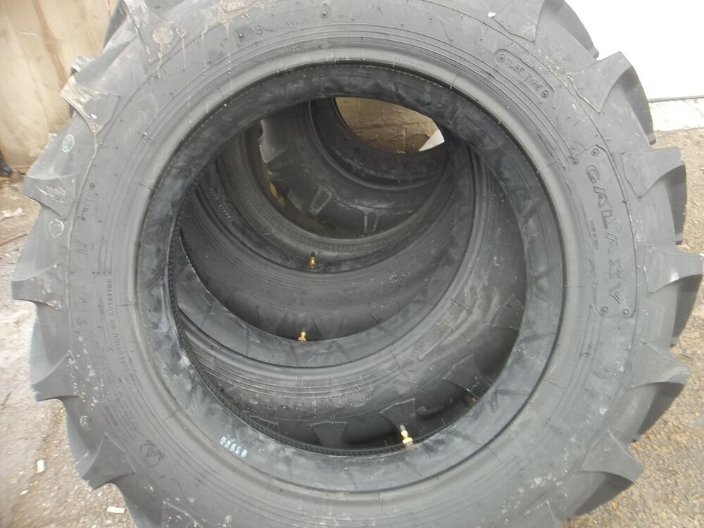 Tractor Rear Tires : One ply ford john deere r bar lug rear tractor
