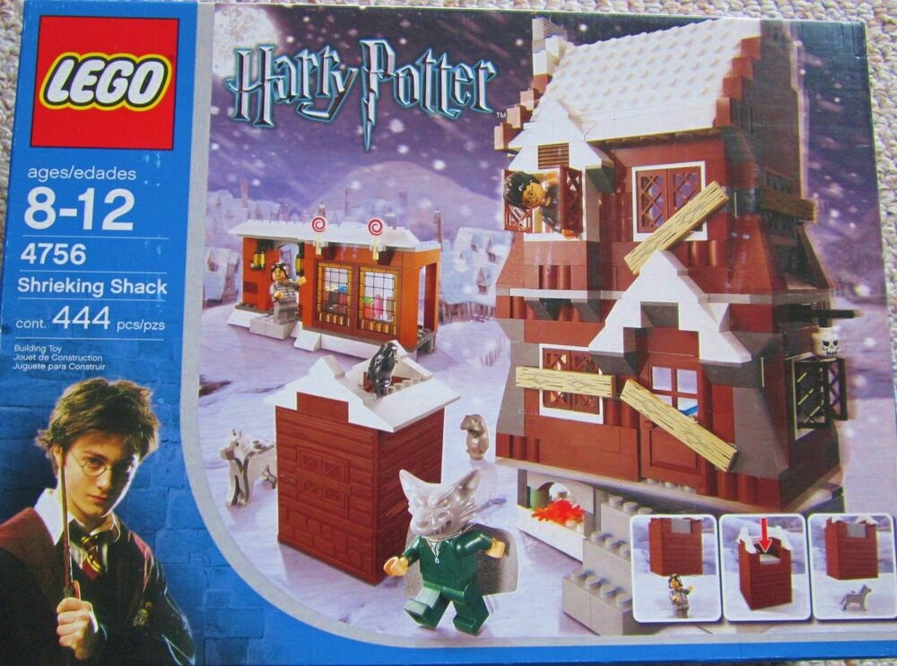 New Sealed In Box Harry Potter Lego Set 4756 The