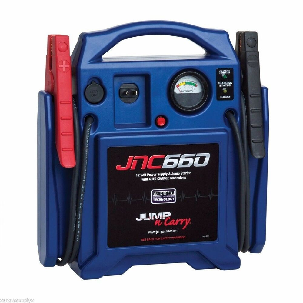 JNC660 1700 Amp Heavy Duty 12v Booster Pack Portable Jump