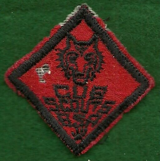 BSA Boy Cub Scouts Bear Wolf Gold Arrow Point