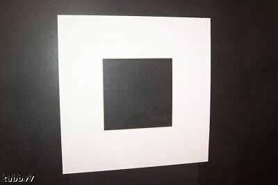 1 white 5x7 acid free mat 3x5 opening for picture frame more color choices ebay