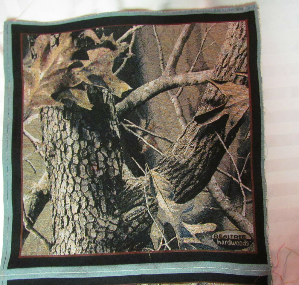 Realtree hardwoods camouflage camo tapestry hunters fabric