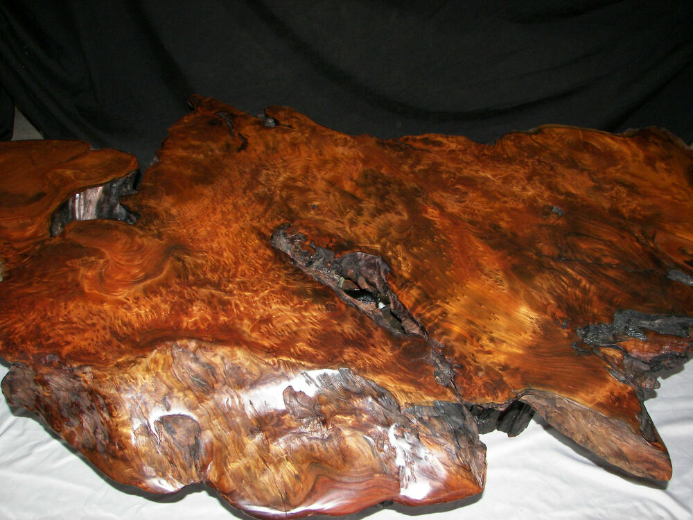 Redwood burl coffee table with irridescant carnival glass crystals at - 25 Best Redwood Burl Coffee Table Wallpaper Cool Hd