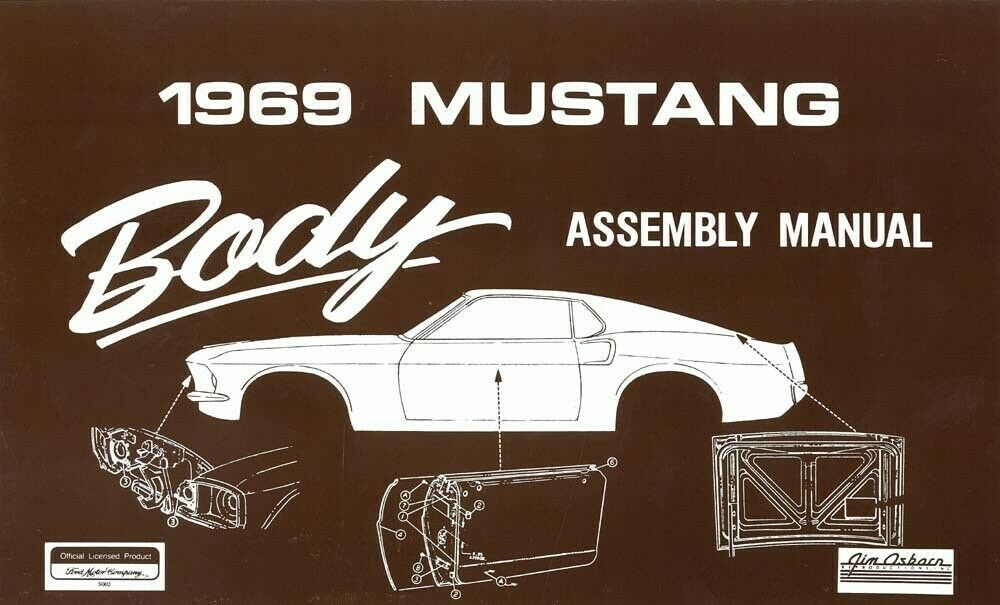 1969 ford mustang body assembly manual book instructions 1966 ford wiring diagram 1966 pontiac wiring diagram