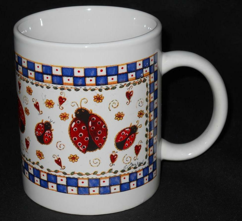 Lady bug lady bug fly away home coffee cup mug ebay for Best coffee mugs for home