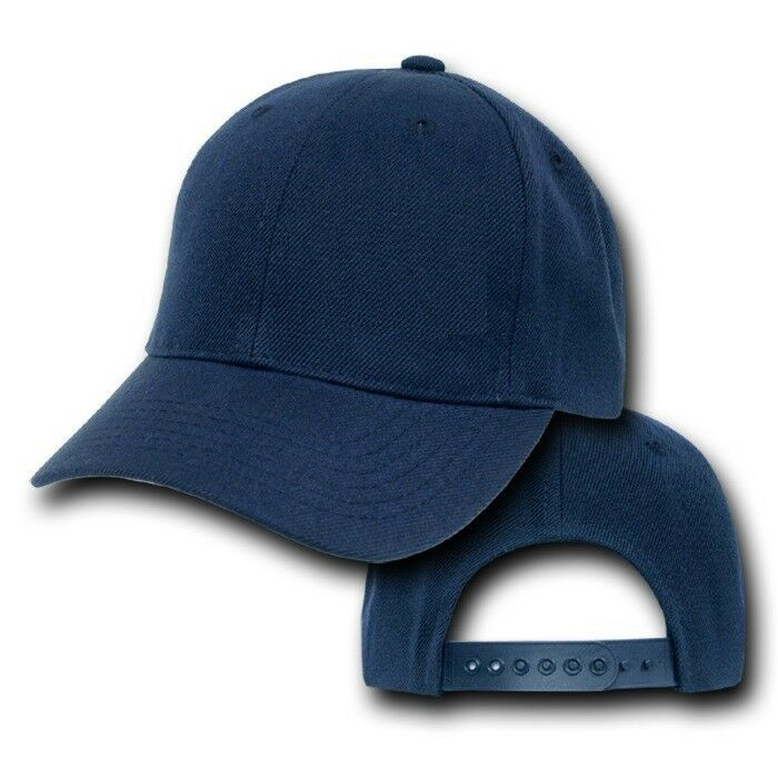 Details about Navy Blue Youth Plain Blank Adjustable Childrens Baseball  Ball Cap Hat Caps Hats 53c755374ff0