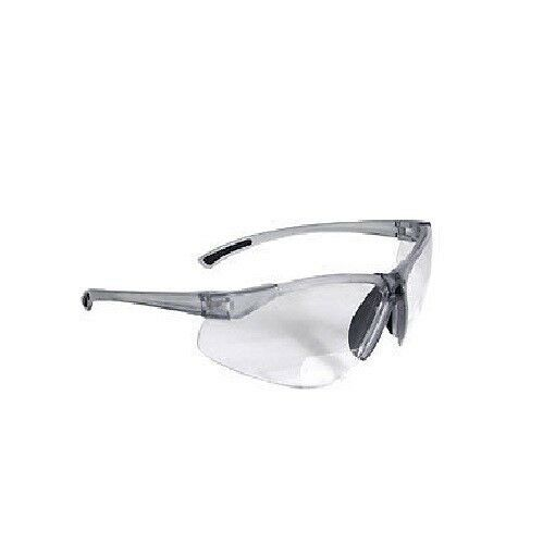 67ac4fd84f1 BiFocal C2-125 Clear Shooting Glasses Safety Glasses Reading Glasses +2.50