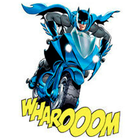 Batman tattoos batman on batcycle wharooom made in usa for Superhero temporary tattoos