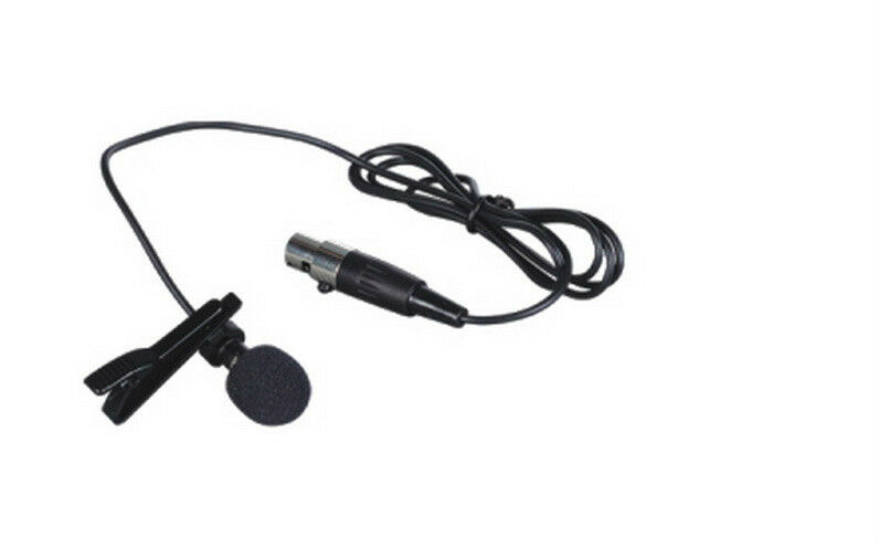 lavalier microphone for shure wireless black lapel mic. Black Bedroom Furniture Sets. Home Design Ideas