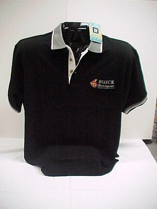 New Buick Grand National >> GM LICENSED BUICK MOTORSPORTS POLO SHIRTS | eBay