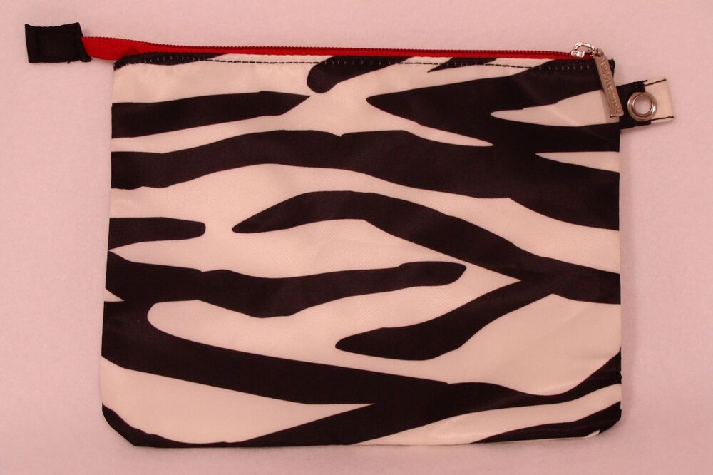 Bath body works black white zebra print w red for Zebra print and red bathroom ideas