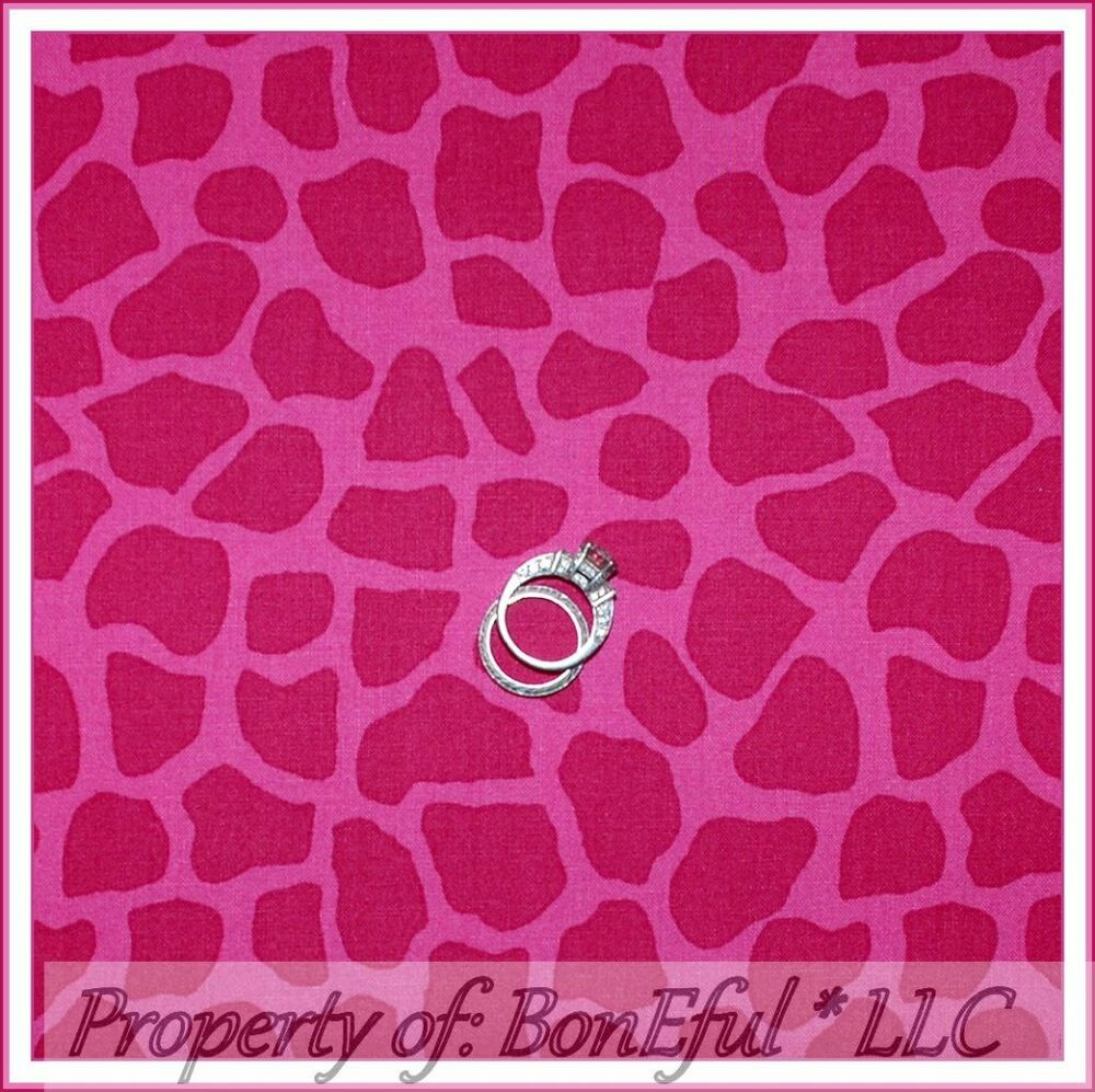 Boneful fabric fq cotton quilt pink baby girl nursery for Nursery print fabric