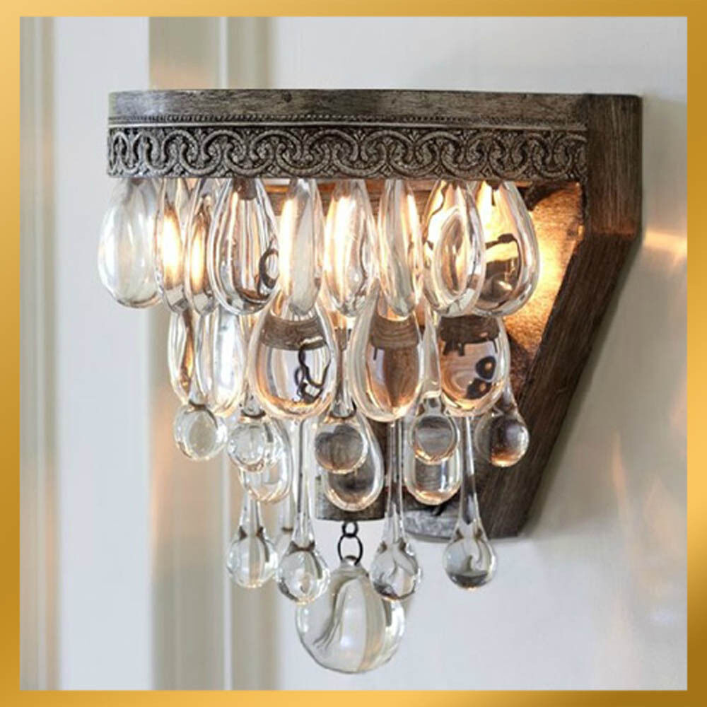 Wall Lights For Old Cottage : Vintage Cottage Country Rustic Rural Style Wall Lamp Sconces Ceiling Lamp Light eBay