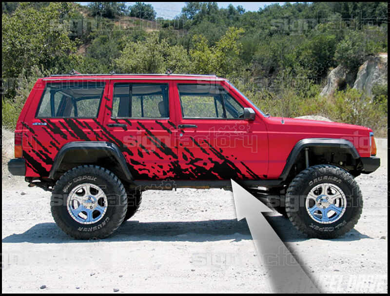 S L on 1995 Jeep Cherokee Country Accessories