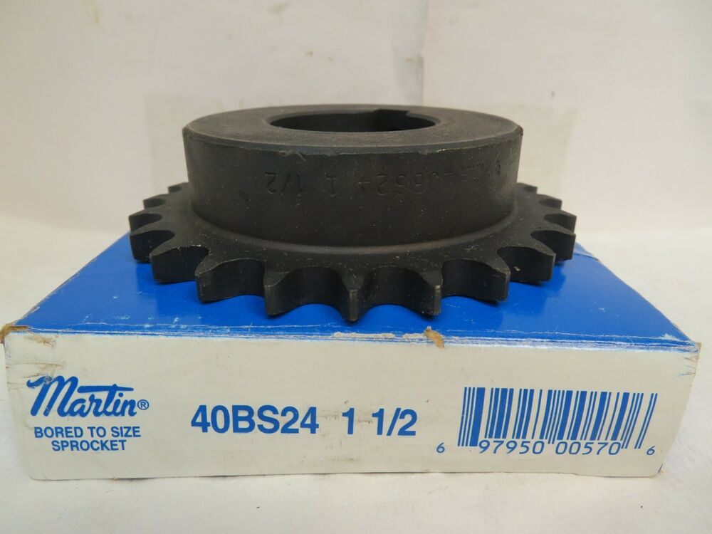 50B14H-3//4 Type B Finish Bore Sprocket for #50 Roller Chain 14 Tooth 50BS14H