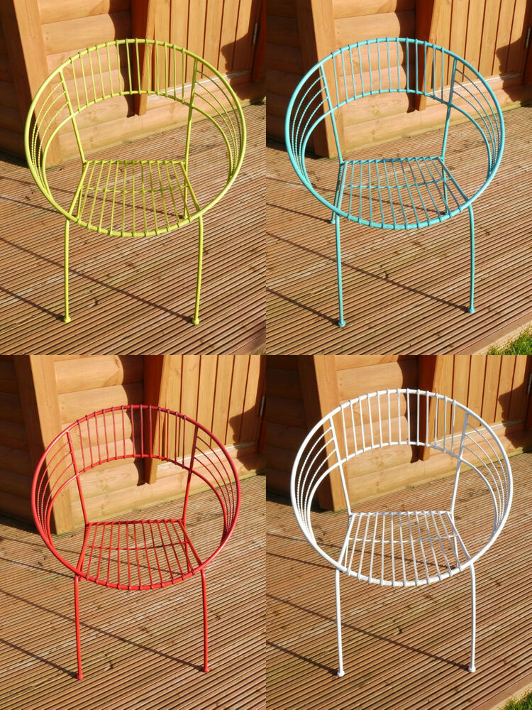 vintage metal chairs tables retro modern style atomic 1950s design retro chairs ebay. Black Bedroom Furniture Sets. Home Design Ideas
