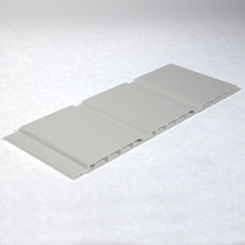 Pvc Siding Boards : Plastic upvc pvc white hollow mm t g cladding soffit