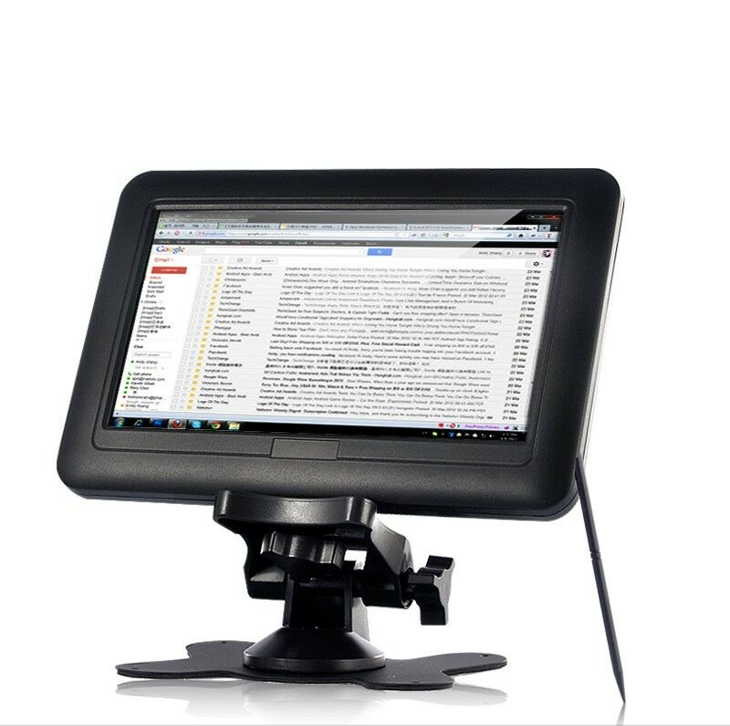 Usb Powered Monitor : Portable inch tft lcd black usb powered touchscreen