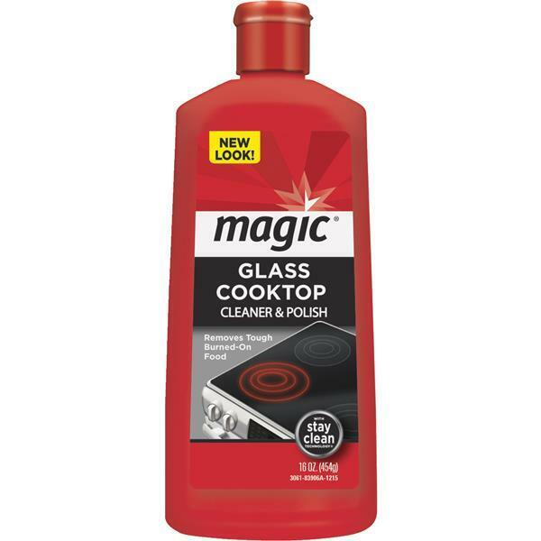 glass stove top cleaner 3 pk magic 16 oz glass ceramic smooth cooktop stovetop 12614