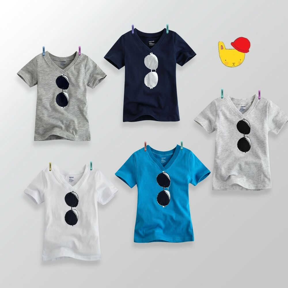NWT Vaenait Baby Toddler Unisex V-Neck Top T-Shirts ...