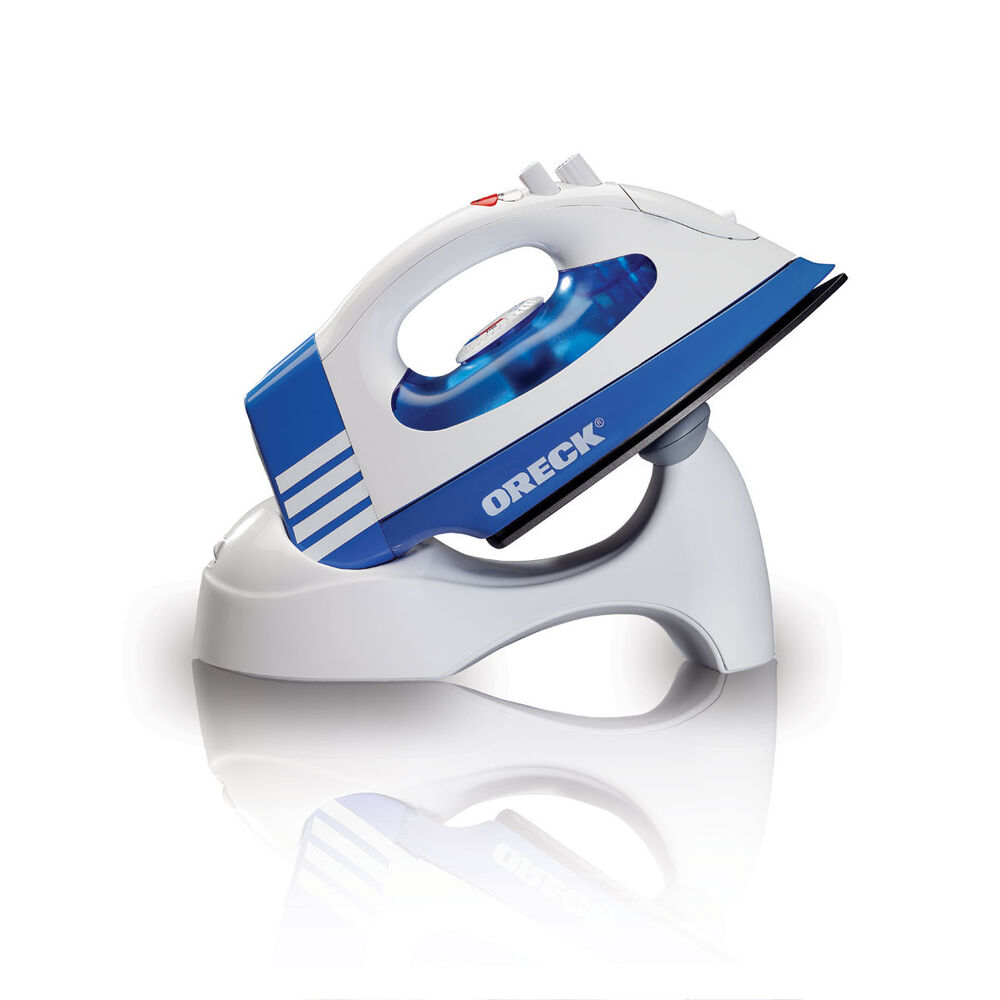 Cordless Steam Iron ~ New oreck cordless speed steam iron jp cblr ebay