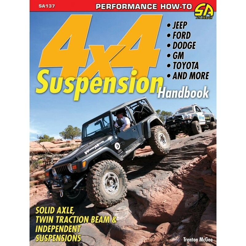SA137P 4x4 Suspension Handbook Offroad Solid & Independent