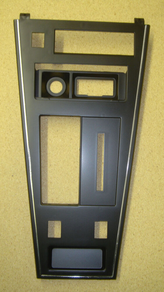 shifter console plate a t c3 corvette 1977 78 79 80e p w defrost cutouts ebay. Black Bedroom Furniture Sets. Home Design Ideas