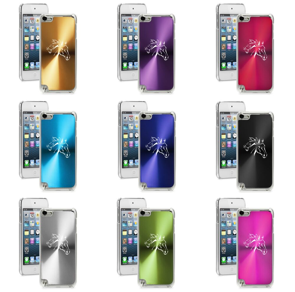 apple ipod touch 5th 6th generation hard case cover horse head ebay. Black Bedroom Furniture Sets. Home Design Ideas
