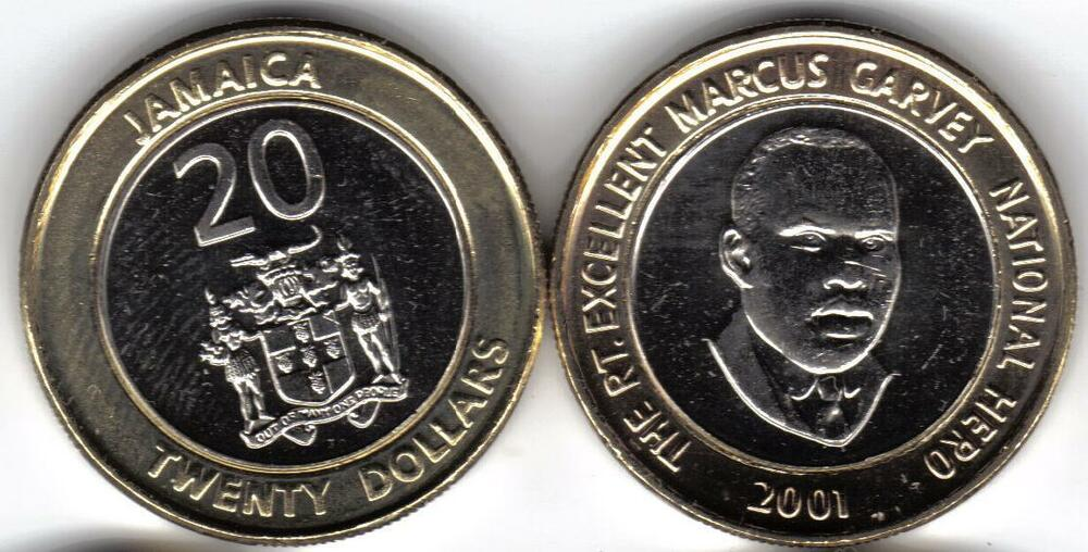 Jamaica 7 Piece Uncirculated Coin Set 0 01 To 20 Ebay