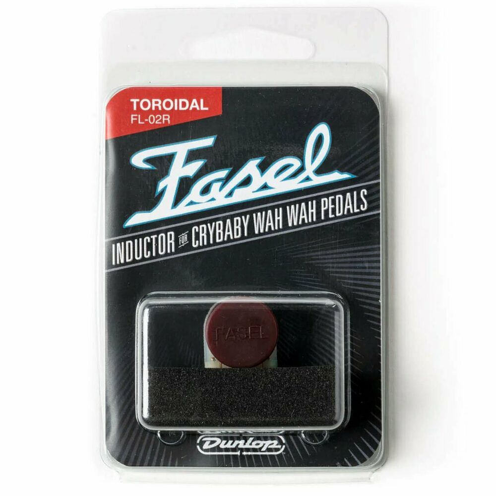 new dunlop red fasel cry baby inductor fl02r cleanest wah tone ebay. Black Bedroom Furniture Sets. Home Design Ideas