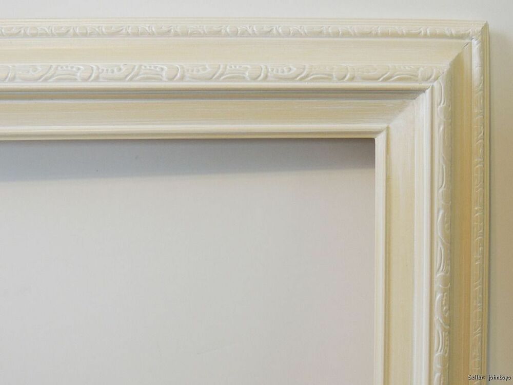 Picture Frame White / Off White For Oil Painting Etc. Fits 20X24 Art ...