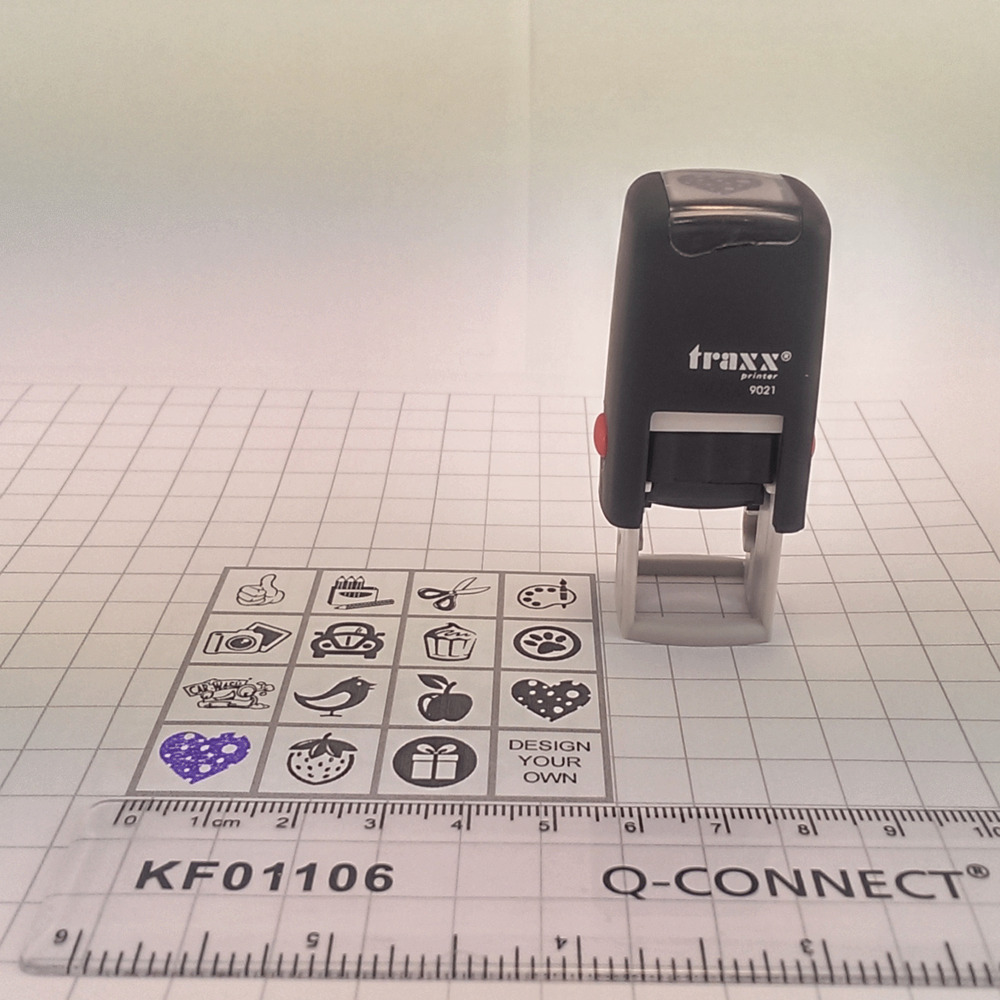 Traxx 9021 Loyalty Card Self Inking Rubber Stamp Cafe Shop