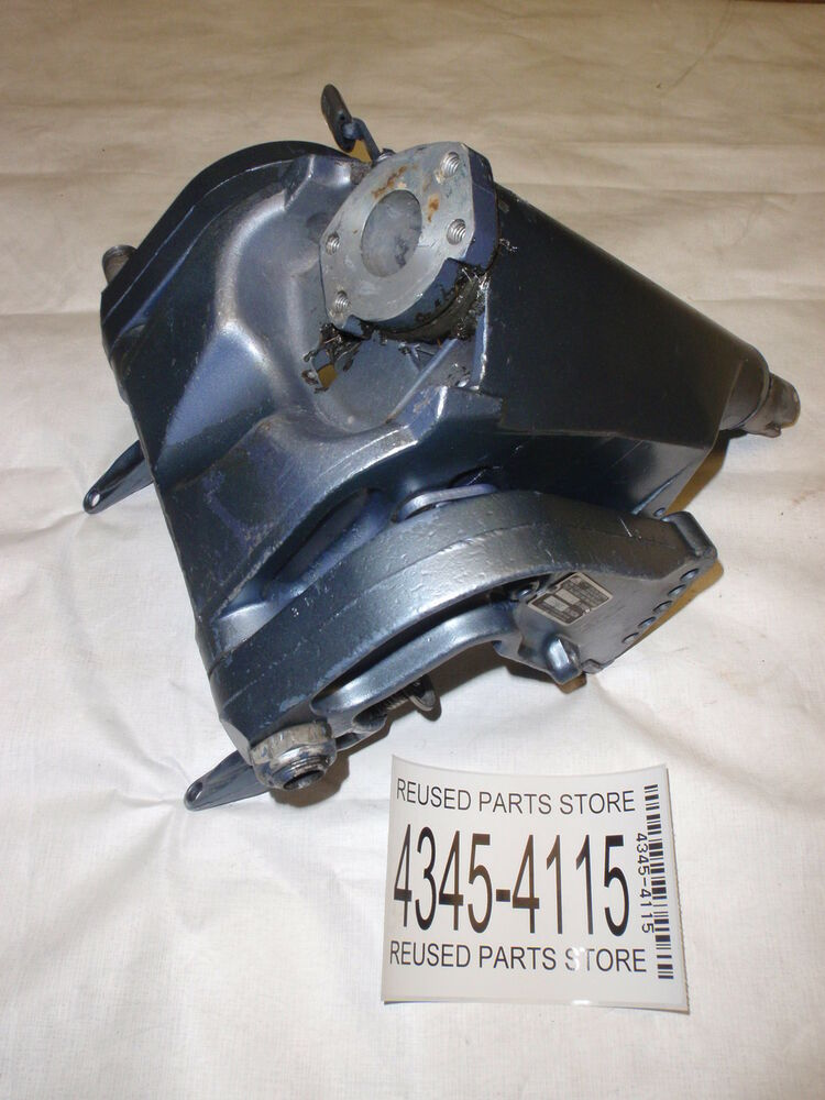 1976 evinrude 35hp 35653g outboard motor omc johnson for Parts johnson outboard motors