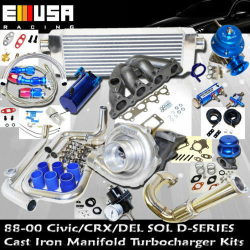 Honda Civic Complete Turbo Kits D Series Ex Si 1 6l Sohc