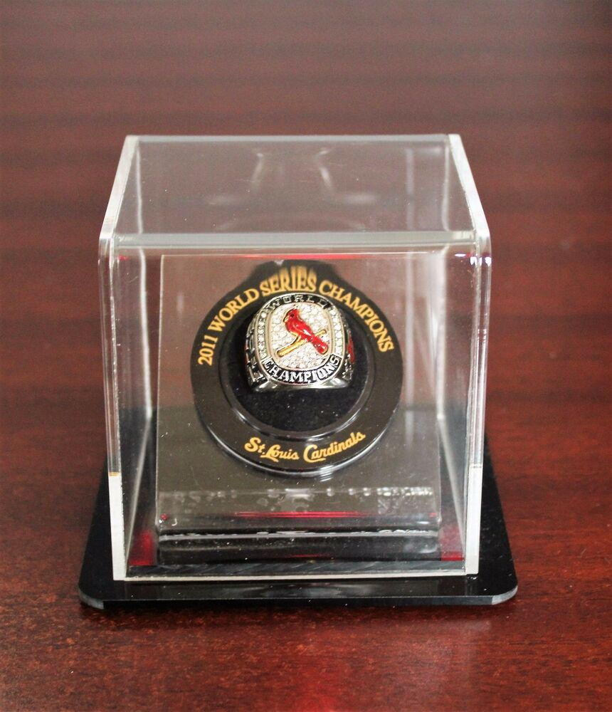 2006 Cardinals World Series Replica Ring Display Case Only