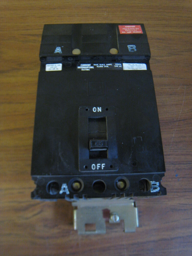 60a circuit breaker wiring diagram square d fa26060 60-amp 60a 2-pole 2p 240v molded case ... #5