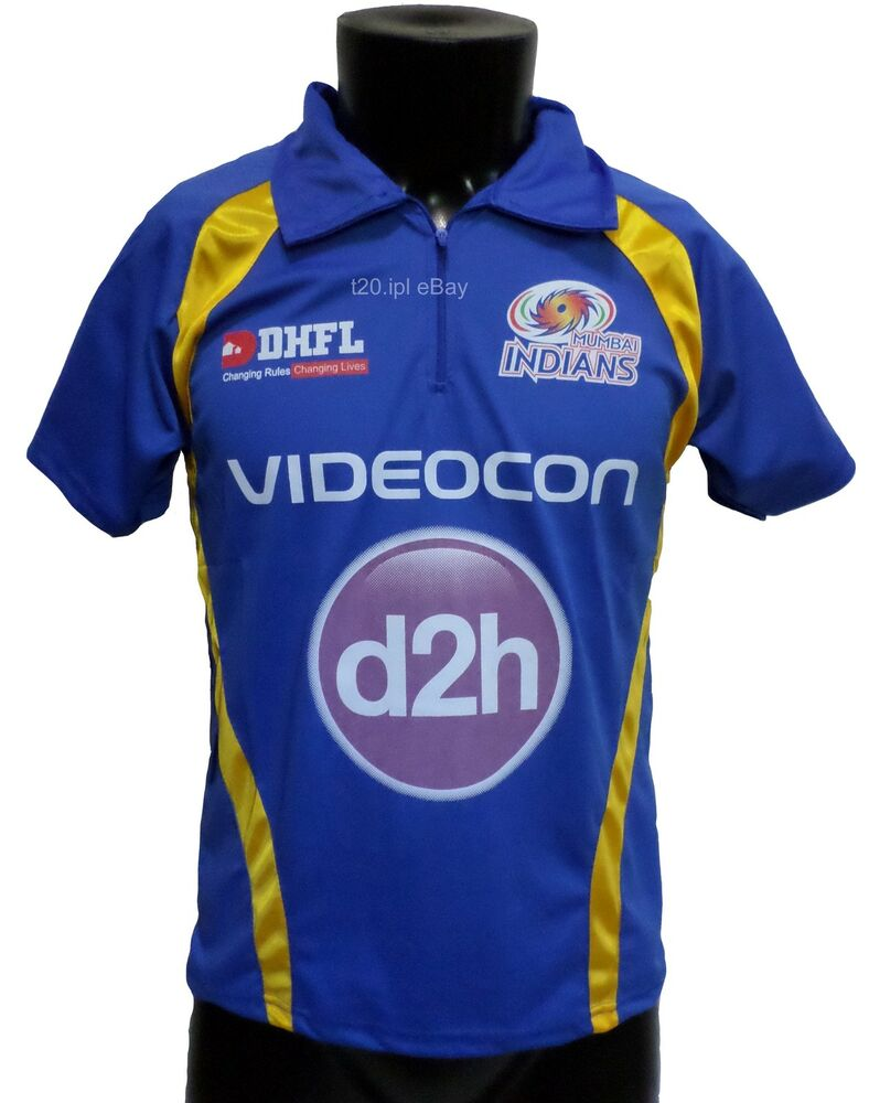 IPL Mumbai Indians 2017 Jersey / Shirt, T20, Cricket India, MI | eBay