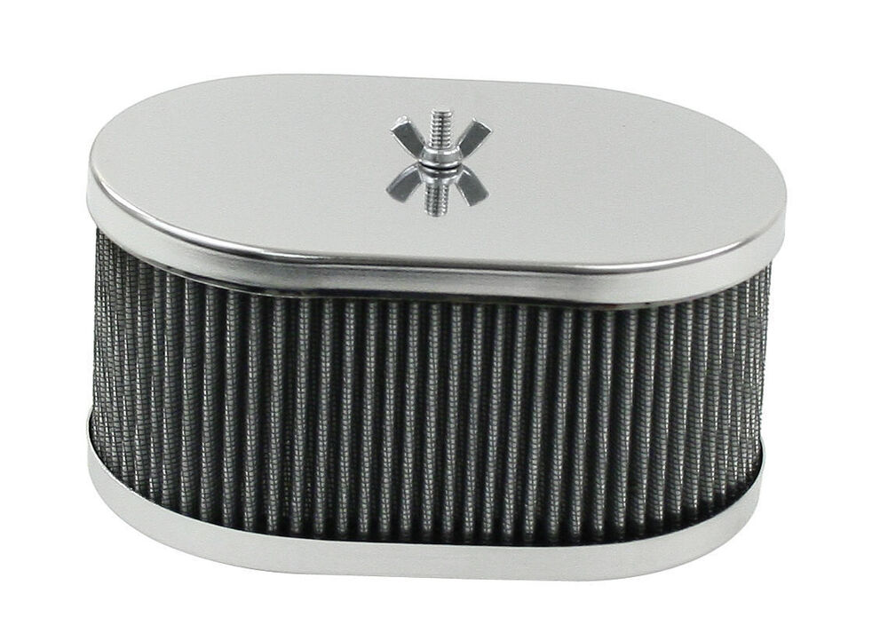 Vw Air Cleaners : Empi vw bug buggy chrome air cleaner weber idf dlra