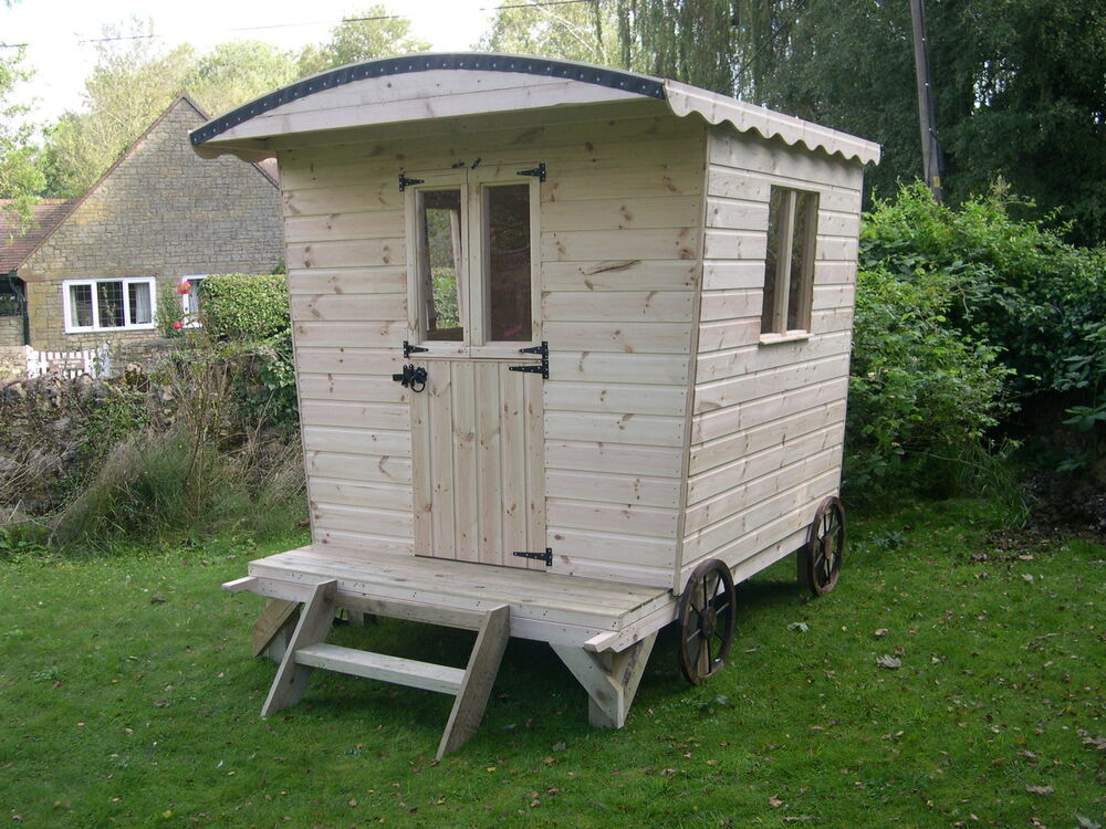 The shepherdess shepherds hut style garden shack for Garden hut sale