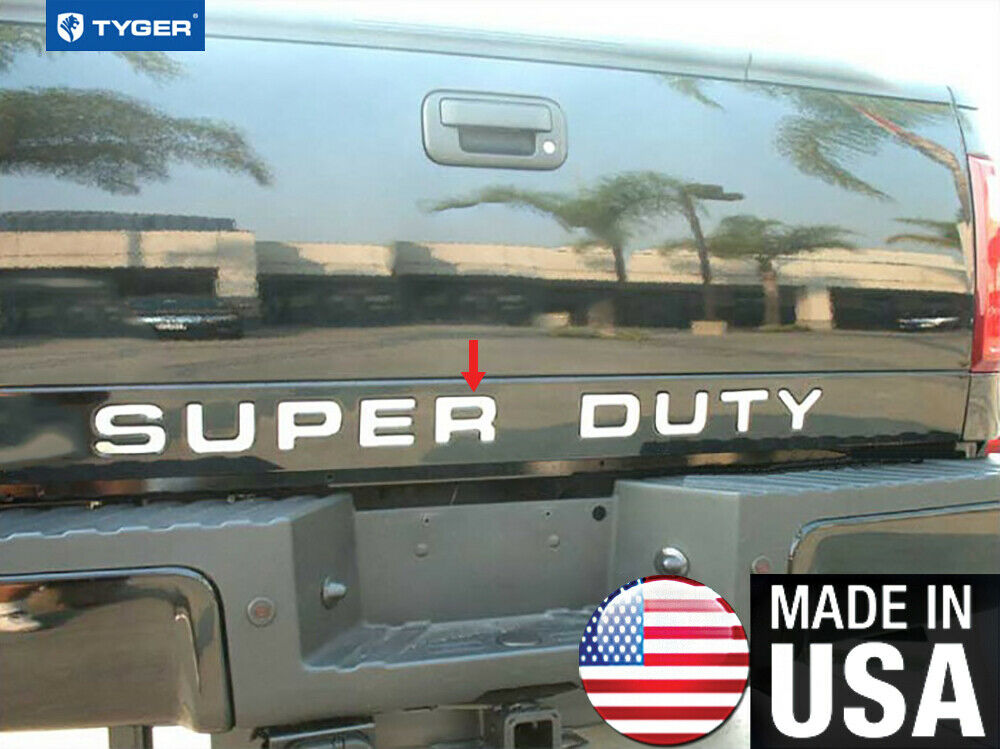 Tyger For 08 16 Ford F250 F350 Letter Super Duty Tailgate