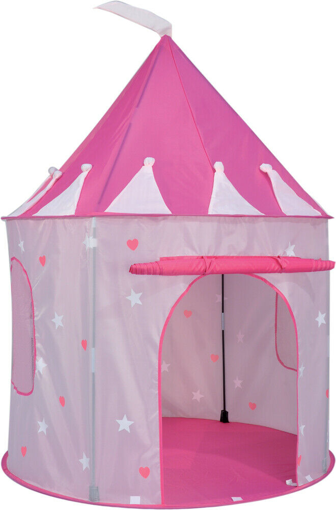 childs play tent girl boy princess castle circus kids pop. Black Bedroom Furniture Sets. Home Design Ideas