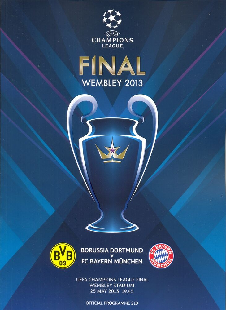 2013 UEFA CHAMPIONS LEAGUE FINAL BAYERN MUNICH v BORUSSIA ...