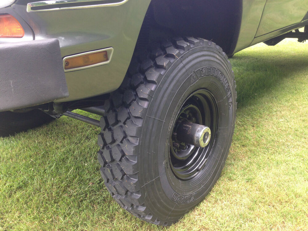 michelin xzl clone yellowsea ys20 military tire 255 100r16 ebay. Black Bedroom Furniture Sets. Home Design Ideas