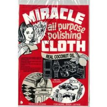 Miracle Cloth All Purpose Polishing Cleaning Towel 6x9 Real Coconut Oil