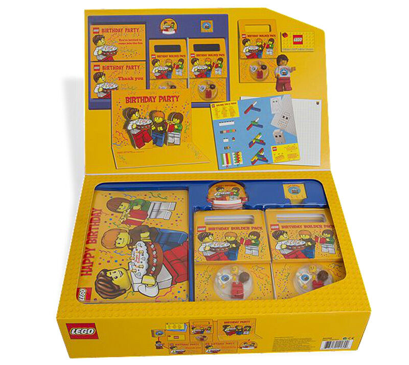 NEW LEGO BIRTHDAY PARTY KIT 852998 Invitations Gifts Party
