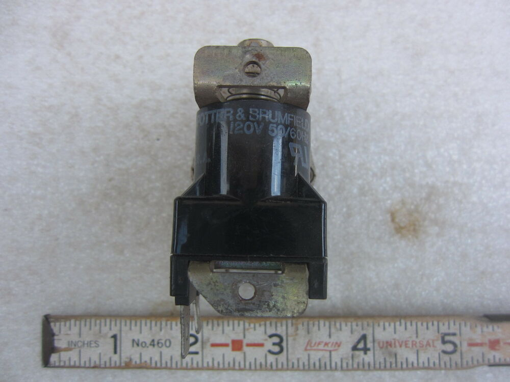 p b potter brumfield 589r 1040 120v coil relay used ebay