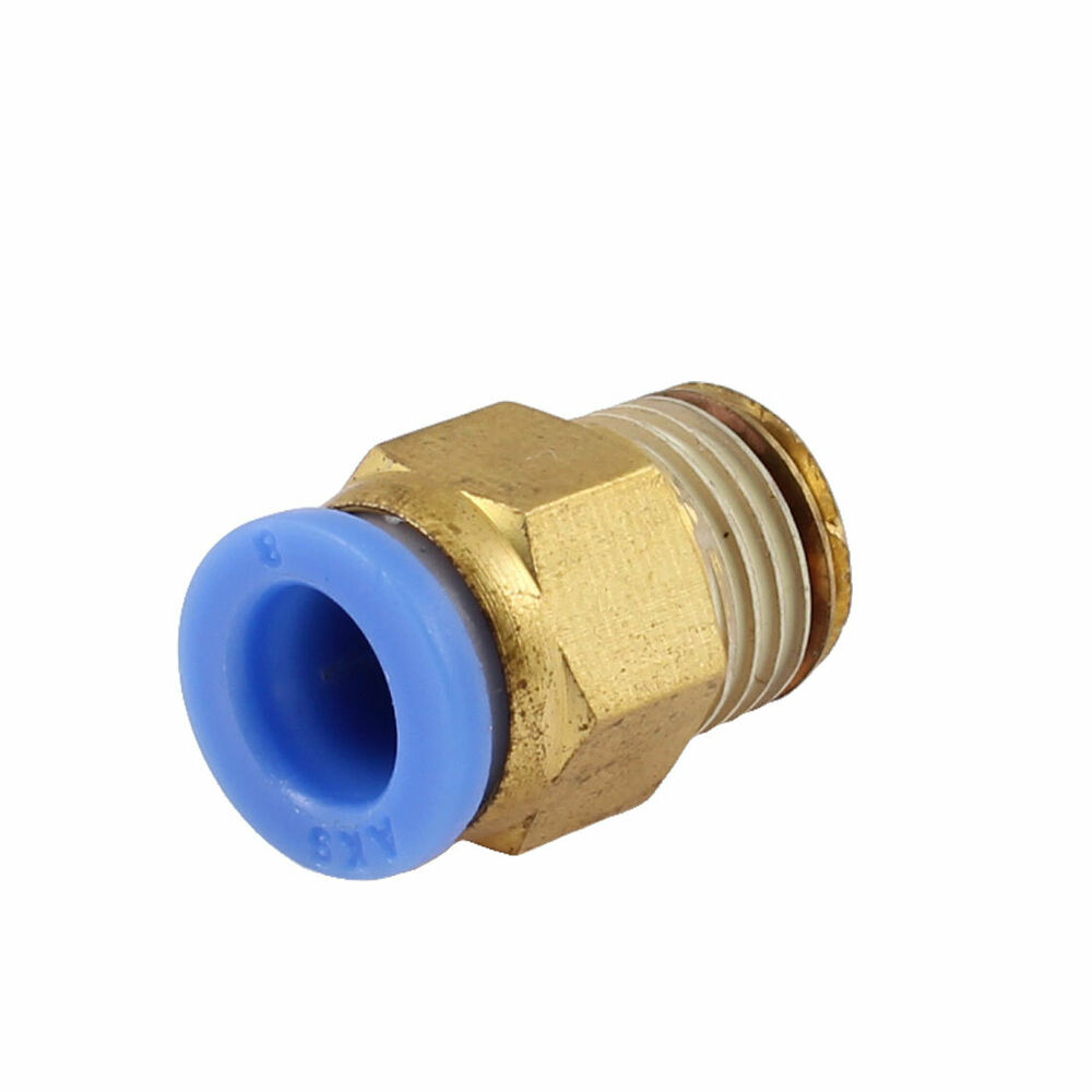 Mm tube pneumatic straight quick coupling quot pt thread