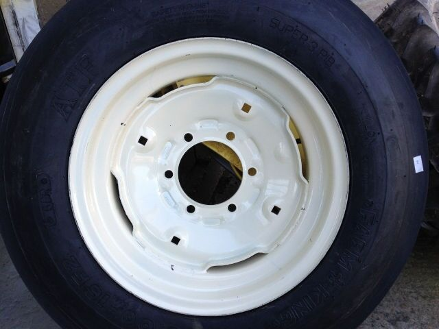 Ford Tractor Tires And Wheels : Two thorn resistant ply triple rib