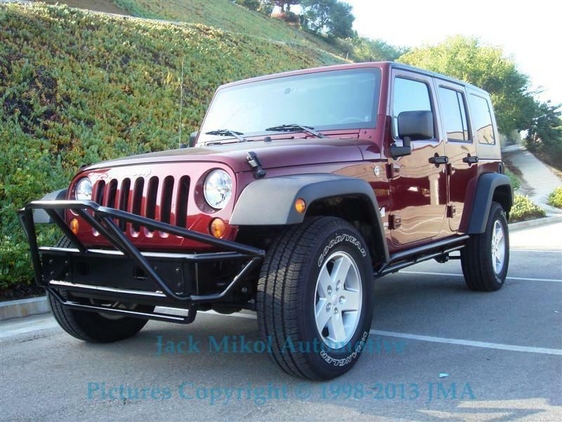 Best Bumper For Jeep Jk : Pre runner black front bumper  jeep wrangler jk